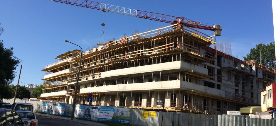 Budowa - ul. Rydygiera Etap I 2017.07