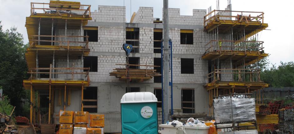 Budowa - ul. Strumienna Etap I - 2018.07