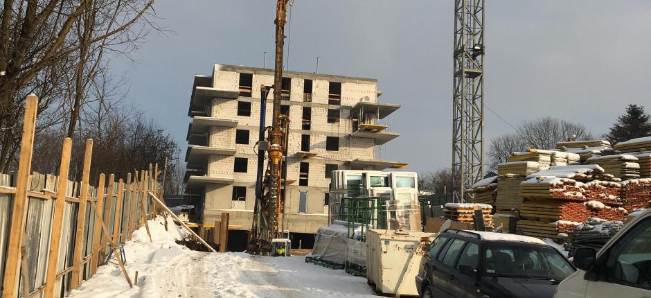 Budowa - ul. Strumienna Etap I - 2019.01