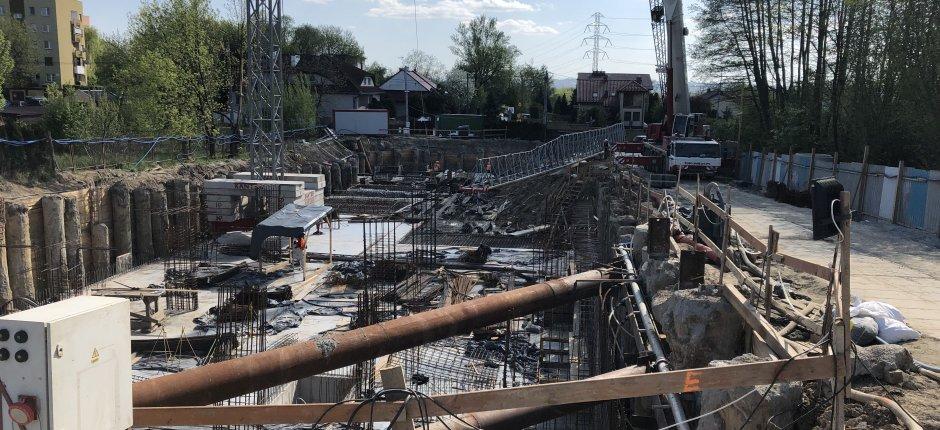 Budowa - ul. Strumienna Etap II - 04.2019