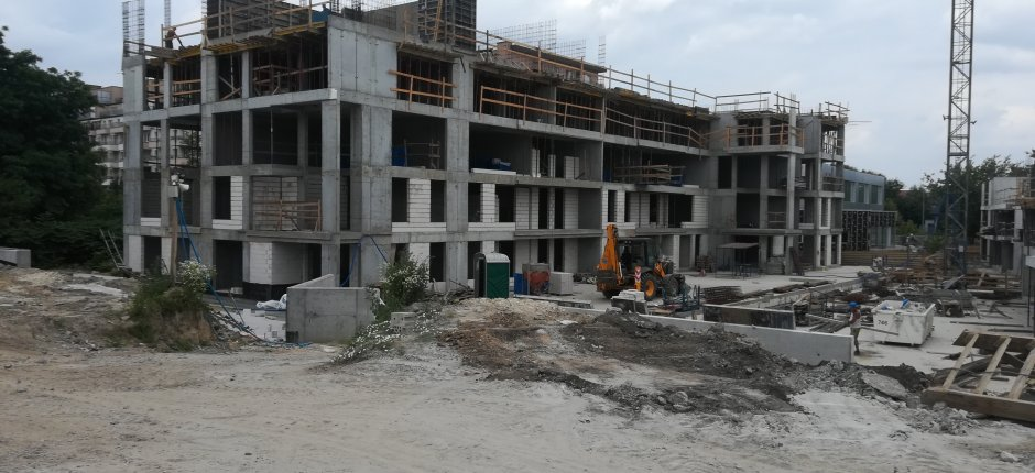 Budowa - ul. Fatimska / Okulickiego 07.2019