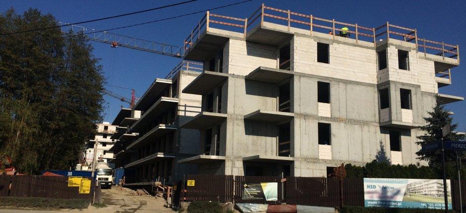 Budowa - ul. Strumienna Etap II - 10.2019