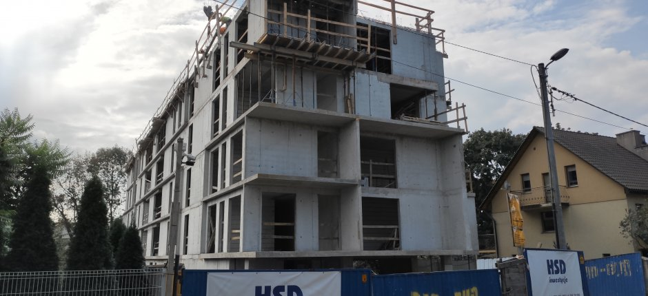 Budowa - ul. Dominikanów 09.2020