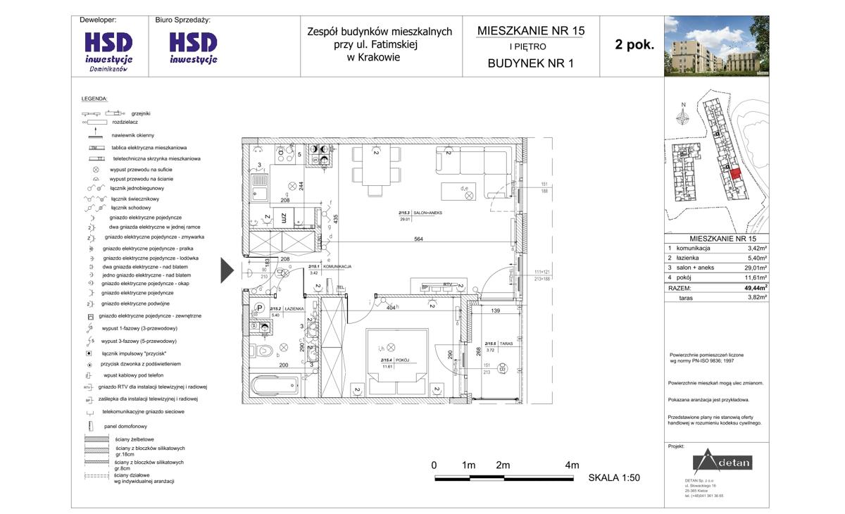 Mieszkanie B1-M15