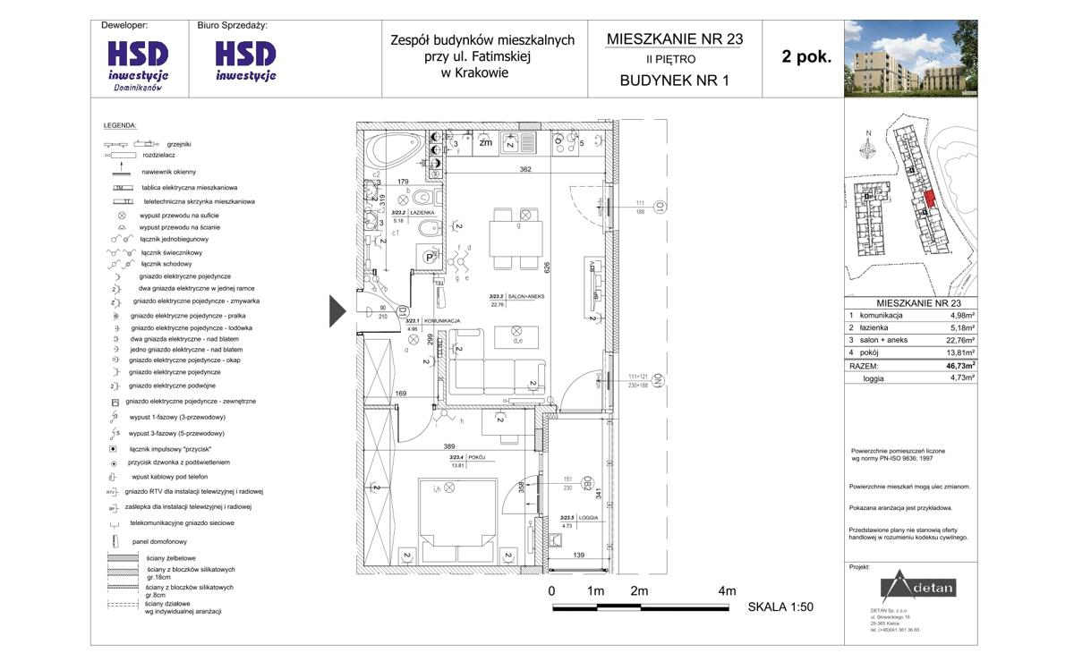 Mieszkanie B1-M23