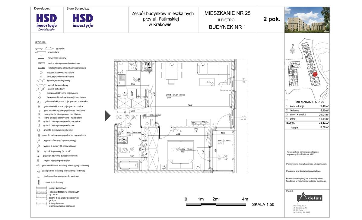Mieszkanie B1-M25