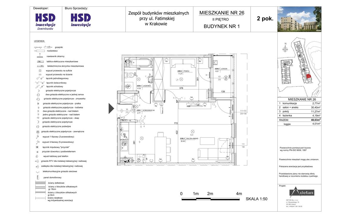 Mieszkanie B1-M26