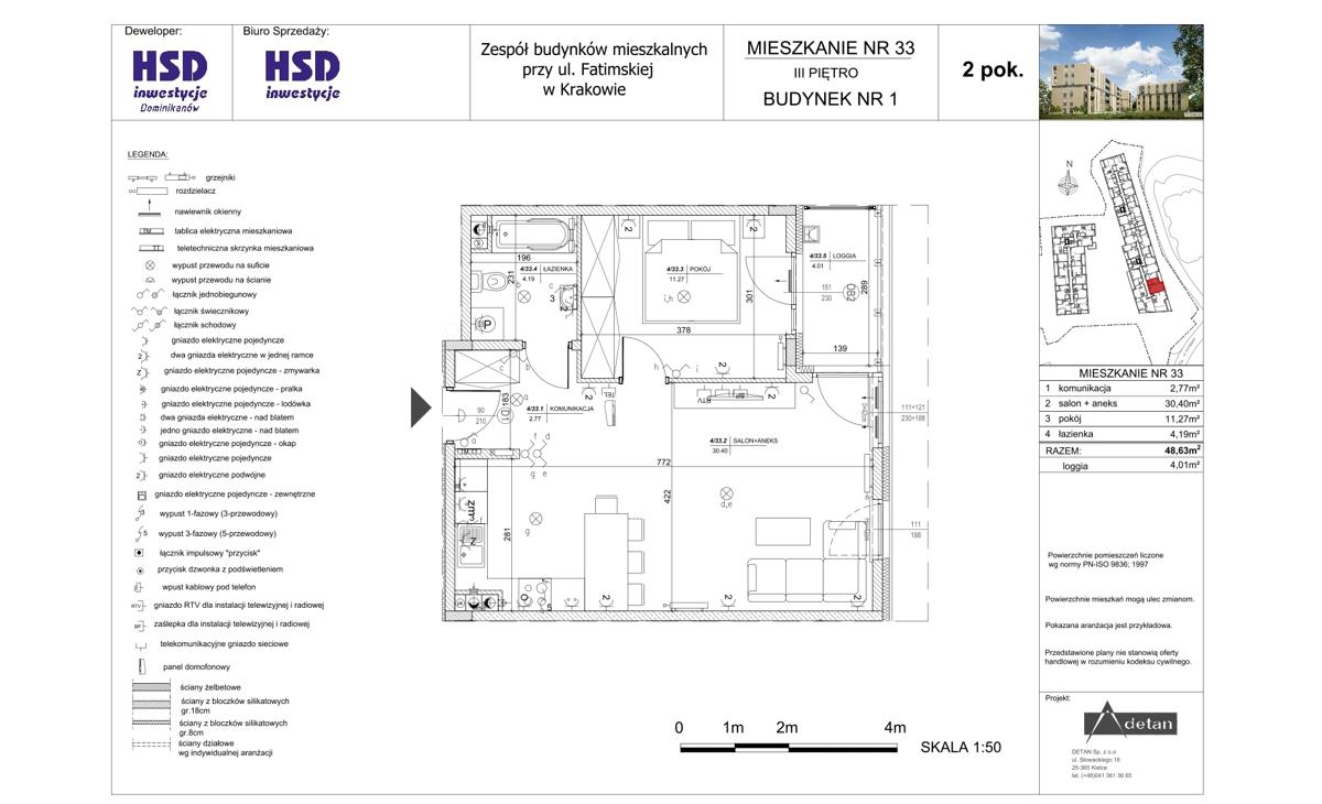 Mieszkanie B1-M33