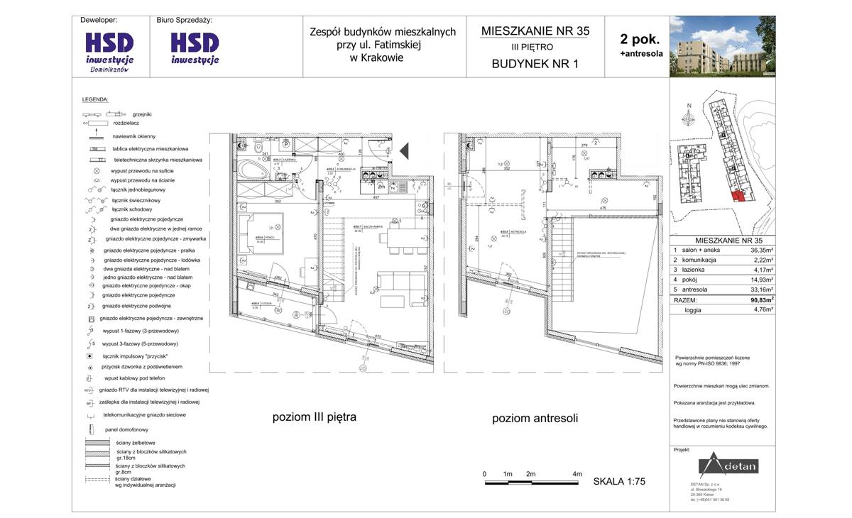 Mieszkanie B1-M35