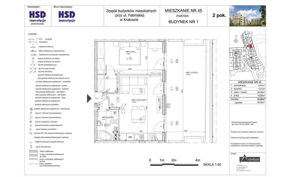 Mieszkanie B1-M45