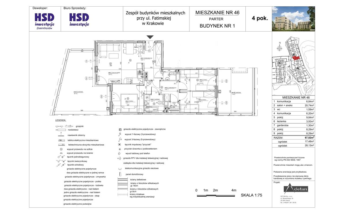 Mieszkanie B1-M46