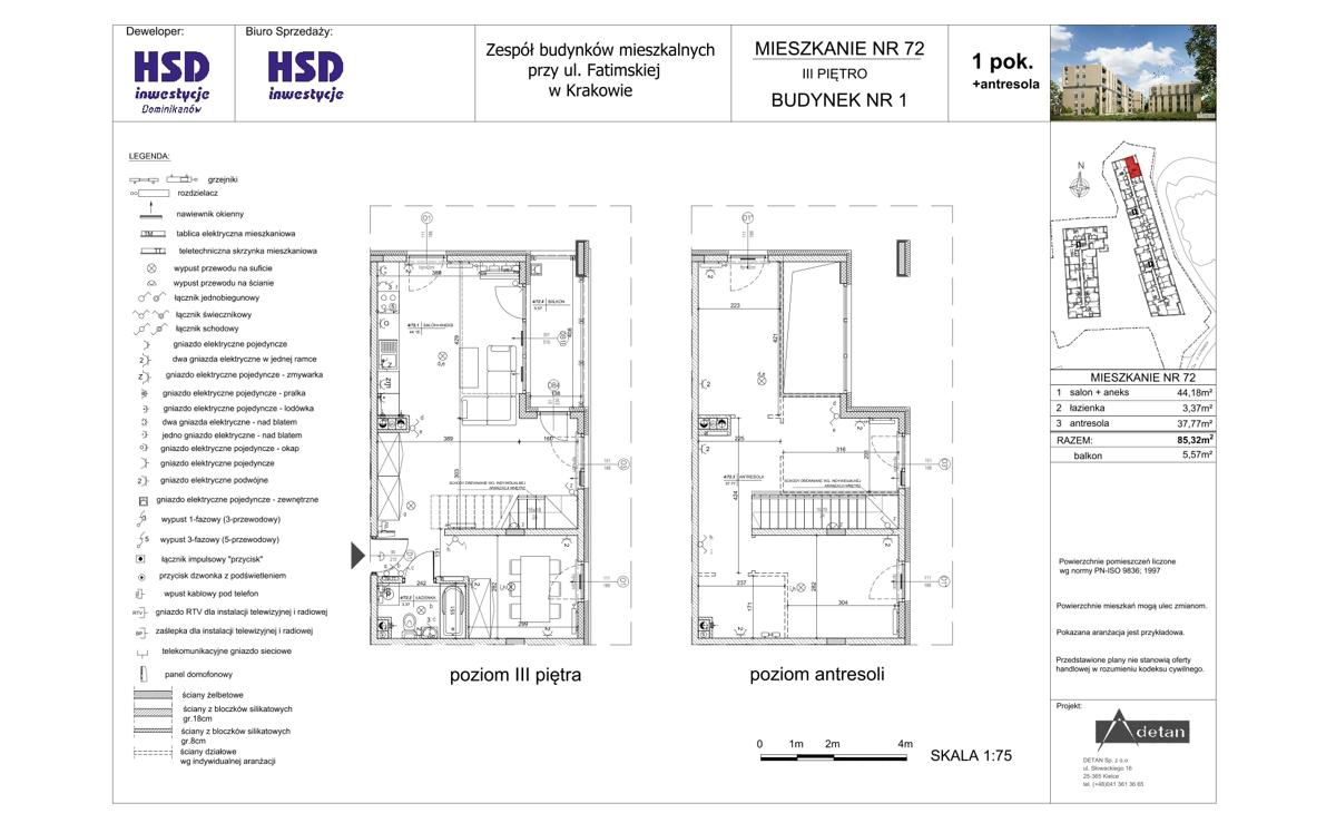 Mieszkanie B1-M72