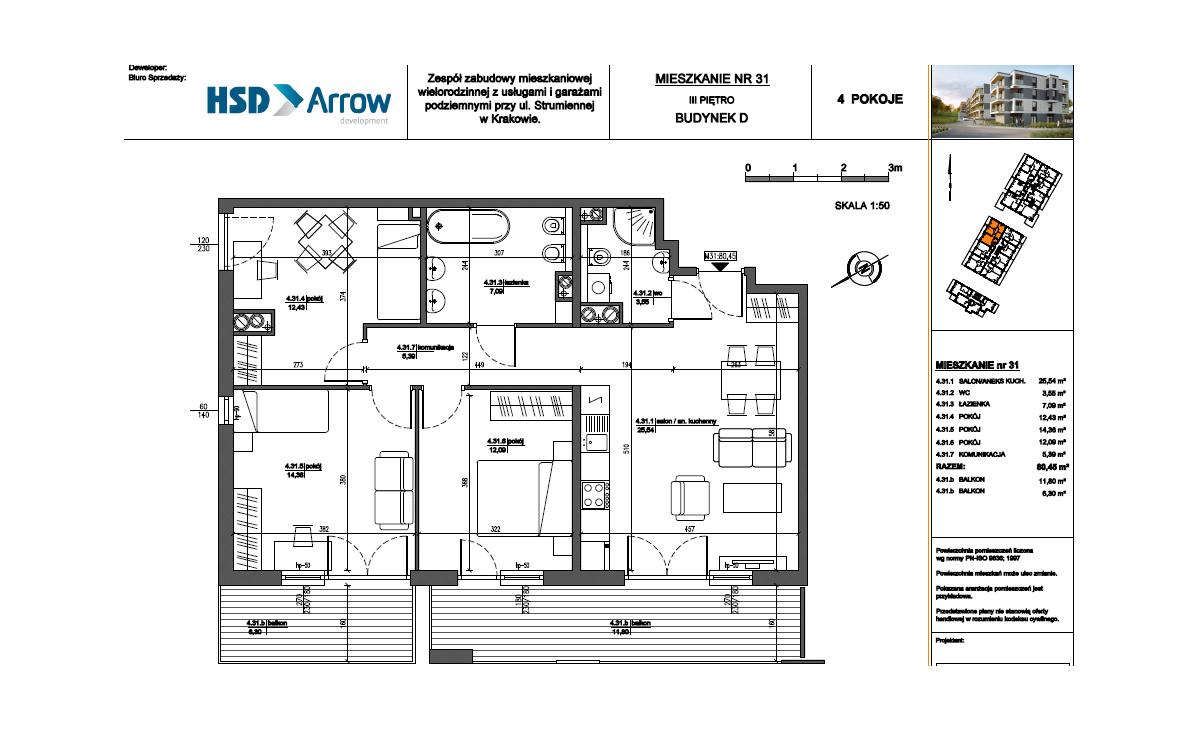Mieszkanie D31