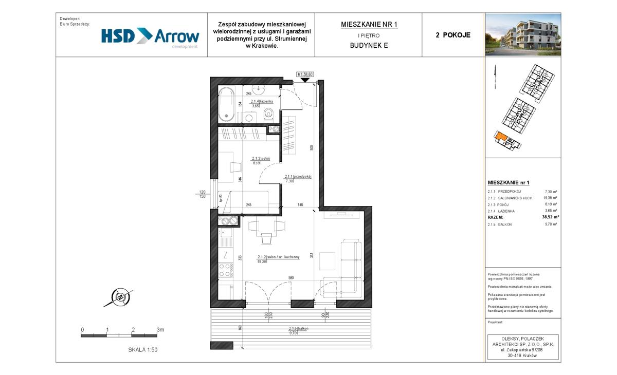 Mieszkanie E01
