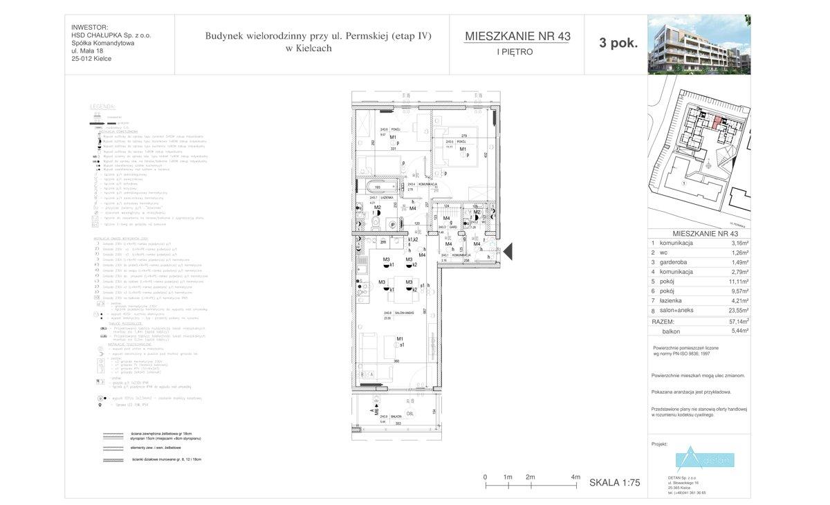Mieszkanie 43