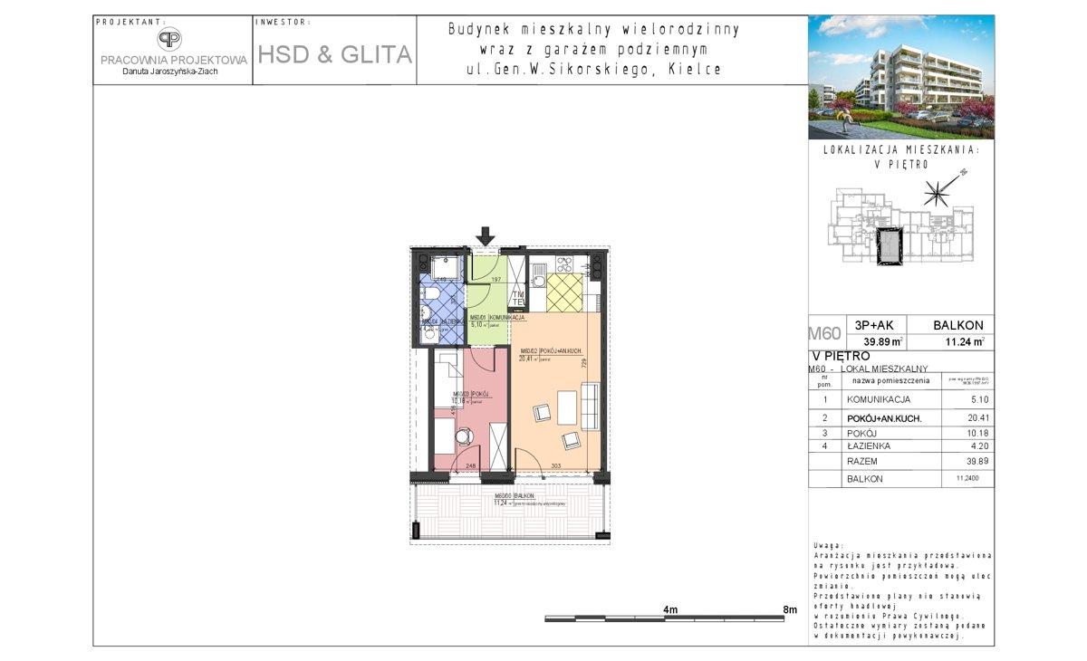 Mieszkanie 60